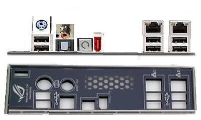 ATX Blende I/O shield Asus Striker II 2 Formula #26 Rampage Formula NEU OVP io