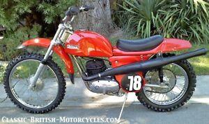 Rickman Montesa vintage motocross motorcycle