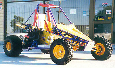 Sidewinder Plus, offroad, mini dune buggy, sandrail, go kart plans on CD disc