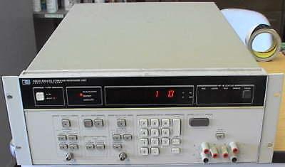Hp 3253a Analog Stimulusresponse Unit Tester Test Set