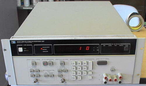 HP 3253A Analog Stimulus/Response Unit Tester Test Set