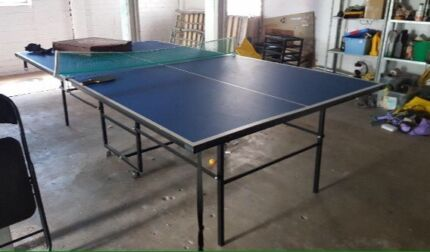 Table Tennis or Ping Pong Table & Gear