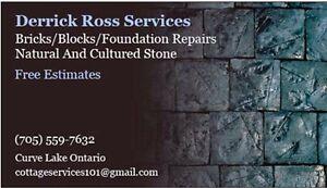 Derrick Ross Masonry Services Peterborough Peterborough Area image 1