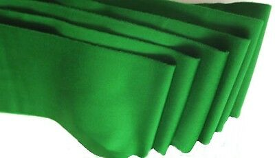 STRACHAN 6811 TOURNAMENT QUALITY SET OF 6 x SNOOKER TABLE CUSHION CLOTH STRIPS