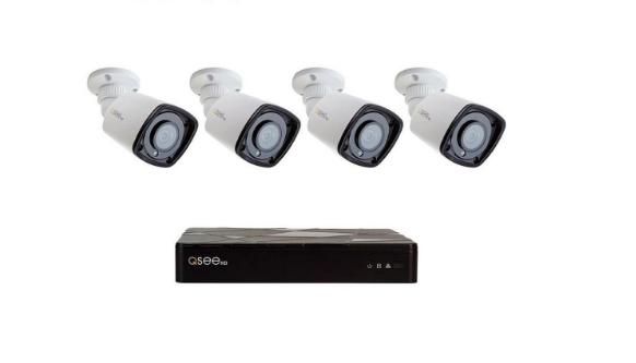 New Q-See QT878-4QT-1 8 Channel Starlight 1TB 1080p NVR Secu