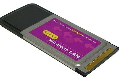 802.11g PCMCIA Wireless Wifi Card for Dell Latitude Laptop on Rummage