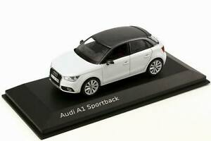Genuine Audi A1 Sportback Model Car 1:43 Scale - Glacier White
