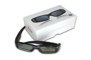 2 pairs of 3D active shutter glasses for LG TV , compatible with AG-S100 . NEW!