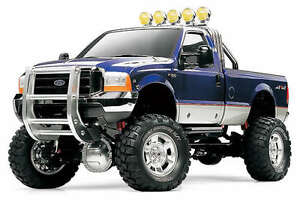 Tamiya 4X4 R/C  FORD F-350  High-Lift  Pick-up  Truck  ! 4WD  Off Road  # 58372