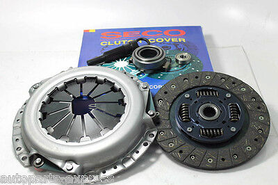 Clutch Kit Seco For 1989-2000 Geo Chevrolet Metro 1.0l 3cyl Non-turbo