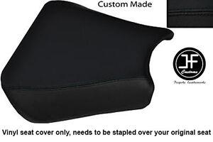 BLACK VINYL CUSTOM FITS HONDA CBR 900 00-01 FRONT RIDER SEAT COVER ONLY