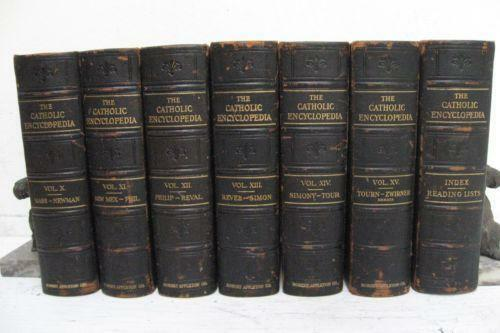 catholic encyclopedia  books