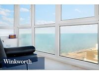 STUNNING SUPER SIZED SEA VIEW APARTMENT - Fully Furnished - (Includes Heating & Hot Water)