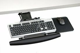Ergonomic keyboard and mouse tray. £20 or nearest offer