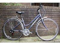 Ladies Ridgeback 21 Speed Hybrid Bike Size 19