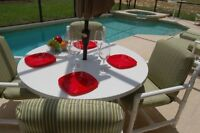 5-bdrm PRIVATE POOL home, DISNEY area, $130 U.S. tax included !!