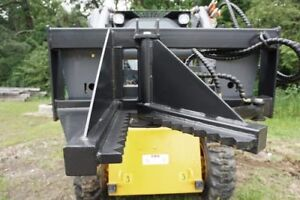 NEW TREE & FENCE POST PULLER SKID STEER ATTACHMENT QUICK ATTACH