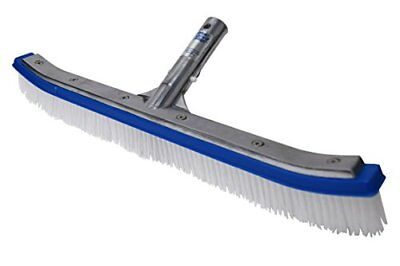Pool Brushes Blue Devil Wall Brush Deluxe 18 Inch Cleaning Tool Supplies Care