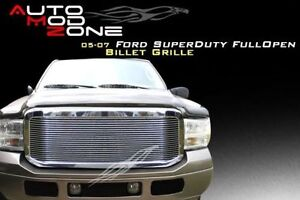 05-07 Ford F-250 F-350 SuperDuty - Billet Grille Grill Insert