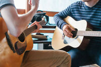 Guitar Lessons - Acoustic, Electric or Bass