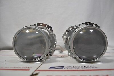 SET OF TWO 2 AUDI RETRO FIT BI-XENON HID PROJECTORS LENS HEADLIGHT LAMP P-01 A12