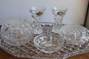 Crystal Dressing Table Set