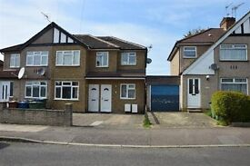Good condition! Large 3 bed flat with private garden and parking space