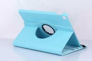 NEW Sky Blue Leather Case Cover for iPad Air 2 / Pro 9.7 Tablet
