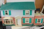 Vintage Marx Metal Doll House