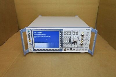 Rohde Schwarz Cmw 500 Wideband Radio Communication Tester 1201.0002k50 Lte Rs