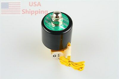 Solenoid Valve 14 Water Air Fuels 12v Gas 2-way Normal Closed Brass