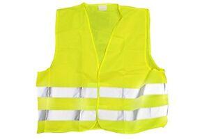 AVISO-SEGURIDAD-Camiseta-Alta-Visibilidad-Reflectante-COCHE-Averia-EU-VIAJE-2X