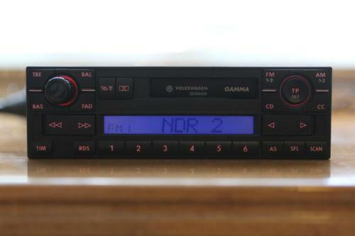 vw gamma 4 radios dvd player wechsler ebay. Black Bedroom Furniture Sets. Home Design Ideas