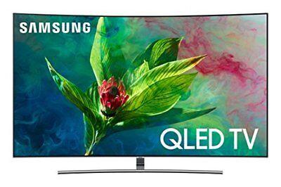 "Samsung QN65Q7C CURVED 65"" QLED 4K UHD 7 Series Smart TV 2018"