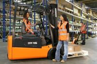 *Nov/Dec Promotion* - Forklift Training & Certification Licence