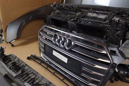 One unit: OEM Front end Audi A5 S5 8W6 Grey FE Frontend Front grill , Mudguard, Bonnet