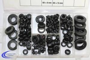 BGS 180 teiliges - Sortiment Gummi Durchgangs tüllen Kabeltülle - Kabel Dichtung