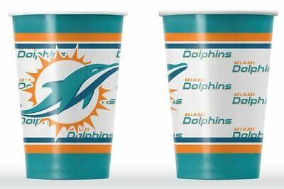 Miami Dolphins Pappbecher