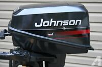 Johnson outboard motor  4hp  2 stroke   Great condition!!!