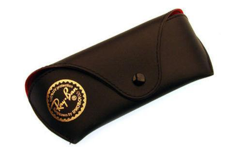are ray ban cases leather