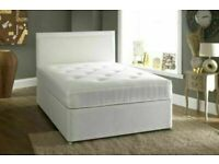🟡💛EXCELLENT QUALITY💛🟡DOUBLE AND KING SIZE DIVAN BED BASE WITH OPTIONAL MATTRESS & HEADBOARD
