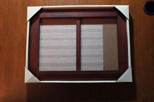 5x7 double picture frame