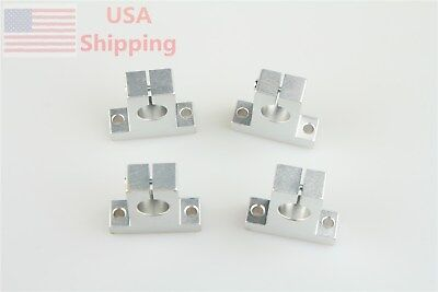 4x Sk12 12mm Rod Linear Rail Shaft Guide Support For Cnc 3d Printer Diy