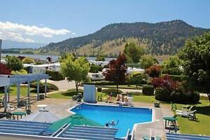 Resort week available at Holiday Park Resort, at Kelowna BC