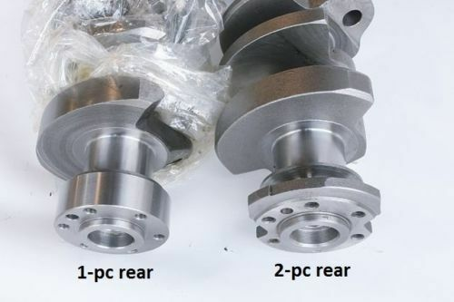 RH-Rotation Chevy Engines. 2-Piece for 7.4-Liter and 8.2-Liter REVERSE Rotation Rear Main Seal GM Reverse Rotation
