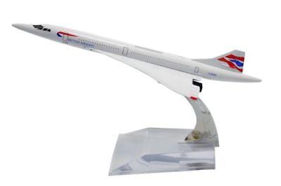 British Airways Concorde Diecast Model BNIB Free Post U.K Sale 16cm