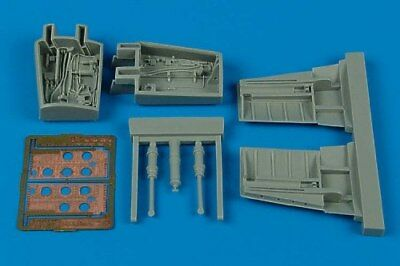 Aires 1/32 F-86 Sabre air brake set for Kinetic 2078