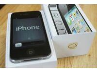 Apple iPhone 4 - 16GB - Black (Orange/Tmobile/EE/Virgin) Smartphone