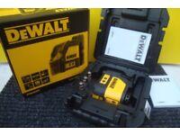 DeWalt DW088K Self LEVEL LASER cross lines New in box 2107