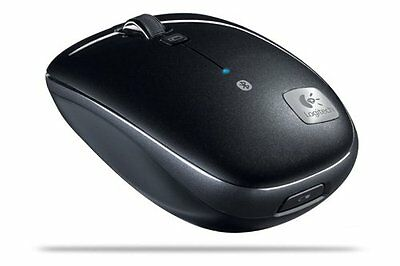 Logitech M555b Bluetooth Wireless Laser Mouse for Mac & PC -OPEN BOX